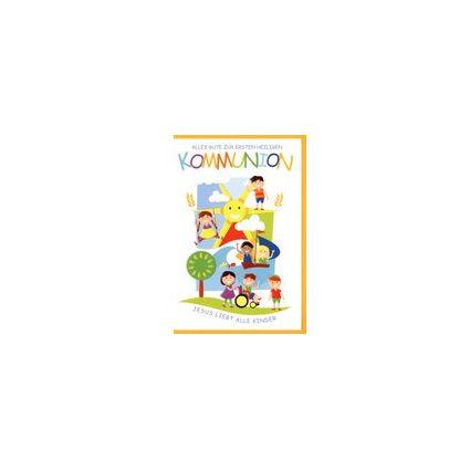 HORN Kommunionskarte - Kinder, inkl. Umschlag