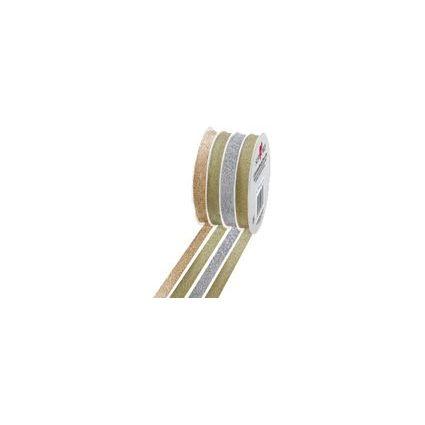 """SUSY CARD Geschenkband Multispule """"Glitter"""""""