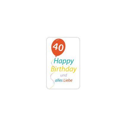 "SUSY CARD Geburtstagskarte - 50. Geburtstag ""Happy Birthday"""