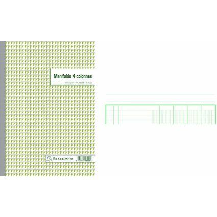 EXACOMPTA Formularbuch 4 Spalten, 297 x 210 mm