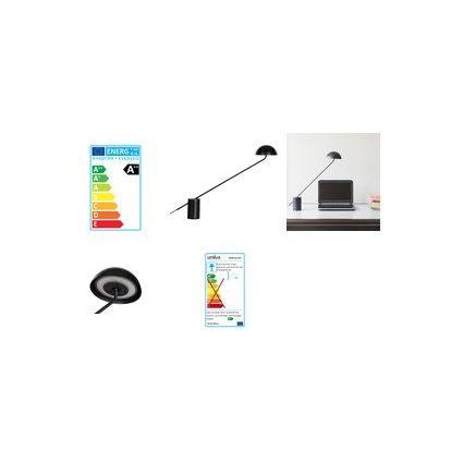 UNiLUX LED-Tischleuchte BHAUS, Farbe: schwarz