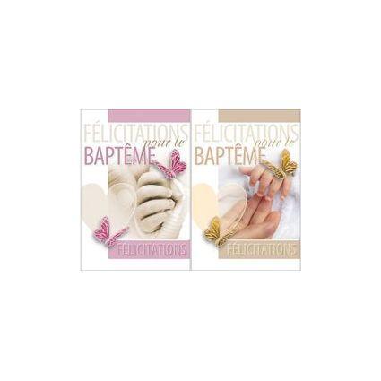 WEIGERT Cartes de voeux, Baptême, petits pieds