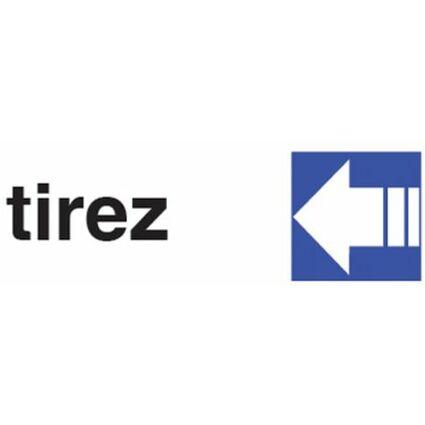 "pavo Hinweisschild ""tirez"", (B)170 x (H)47 mm"