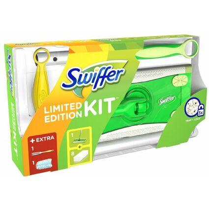 Swiffer Starter-Set Bodenwischer + Handgriff Staubmagnet