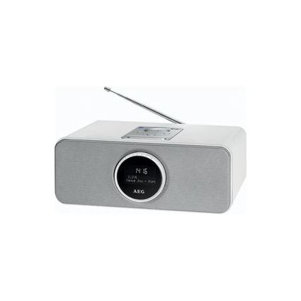 AEG DAB+/UKW PLL-Radio SR 4372 BT/DAB+, weiß