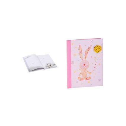 "goldbuch Babytagebuch ""Bunny"", rosa, 44 Seiten"
