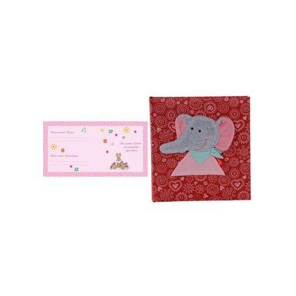 """goldbuch Babyalbum """"Bungee Bunny"""" pink, 60 Seiten"""