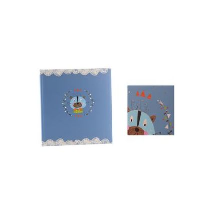 """goldbuch Kinderalbum """"Löwe"""", 60 Seiten, blau"""
