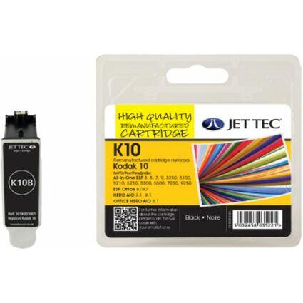 JET TEC wiederbefüllte Tinte K10B/C ersetzt Kodak 10