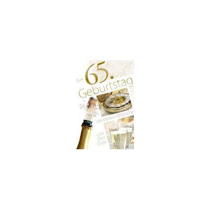 HORN Geburtstagskarte - Fotomotive -  75.Geburtstag
