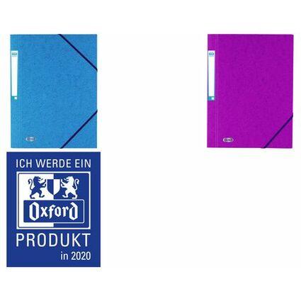 ELBA Eckspannermappe EUROFOLIO, DIN A4, 0,7 mm, sortiert