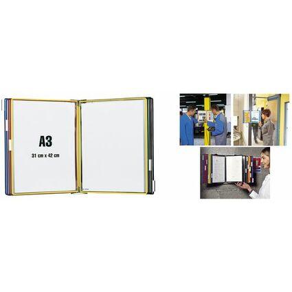 tarifold t-display Wandsichttafelsystem Metall, DIN A3