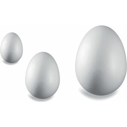 KNORR prandell Styroporei, Höhe: 100 mm, weiß
