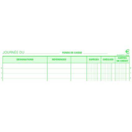 "EXACOMPTA Manifold ""Encaissement"", 297 x 210 mm, dupli"