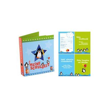 """goldbuch Schulzeit-Sammelordner """"Pinguine"""", DIN A4"""