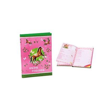 """goldbuch Freundebuch """"Pferde"""", DIN A5, 72 Seiten"""