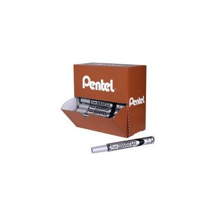 Pentel Whiteboard-Marker MAXIFLO MWL5, schwarz, 30+6 gratis