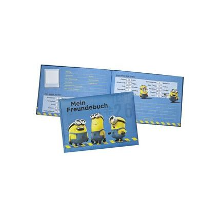 """UNDERCOVER Freundebuch """"Minions"""", Modell 2016, DIN A5"""