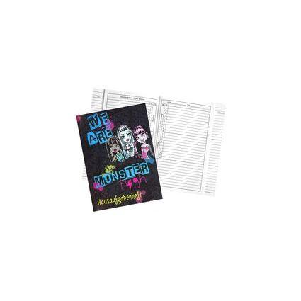 "UNDERCOVER Hausaufgabenheft ""Monster High"", Modell 2016"