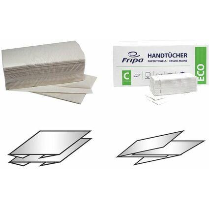 Fripa Handtuchpapier, 250 x 230 mm, V-Falz, weiß