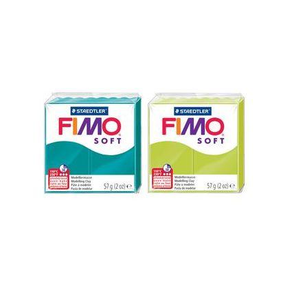 FIMO SOFT Modelliermasse, ofenhärtend, hellorange, 57 g