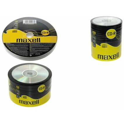 maxell CD-R, 80 Minuten, 700 MB, 52X, 100er Shrink