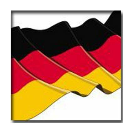 """PAPSTAR Motivservietten """"Germany"""", 330 x 330 mm"""