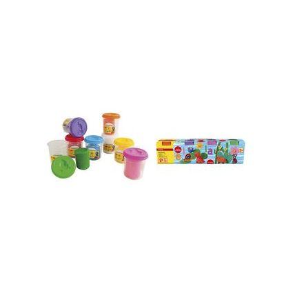 EBERHARD FABER Spielknete-Set, 4 Sonderfarben