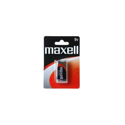 maxell Zink Batterie, E-Block 9V, 6LR61, 1er Blister