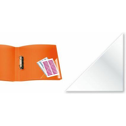 HERMA Dreieck-Selbstklebetaschen, 75 x 75 mm, aus PP