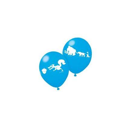 "SUSY CARD Luftballons ""Ice Age"", blau"