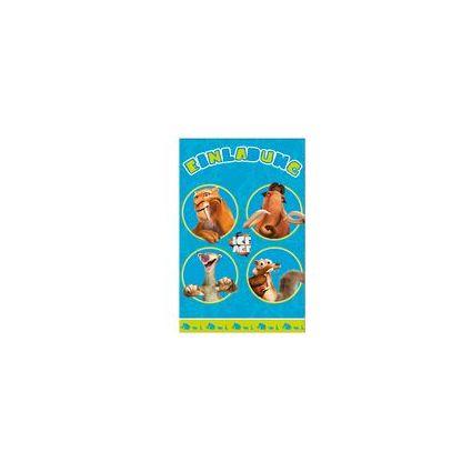 "SUSY CARD Einladungskarte - Kindergeburtstag ""Ice Age"""