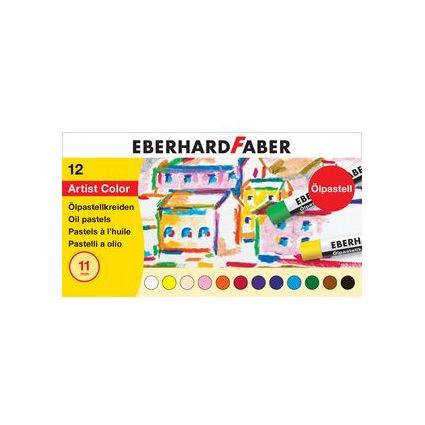 EBERHARD FABER Ölpastellkreide, 24er Kartonetui