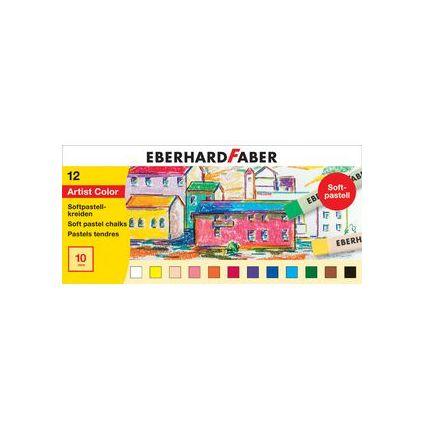 EBERHARD FABER Softpastellkreide, 24er Kartonetui