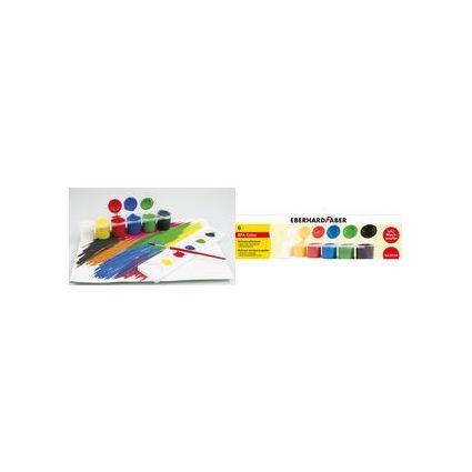EBERHARD FABER Schulmalfarbe EFA Color, 6er Set