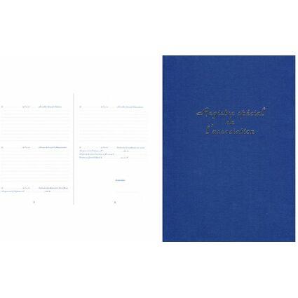 ELVA Registre spécial de l'Association, 297 x 210 mm