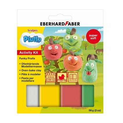 """EBERHARD FABER Modellier-Set Pluffy """"Funky Fruit"""""""