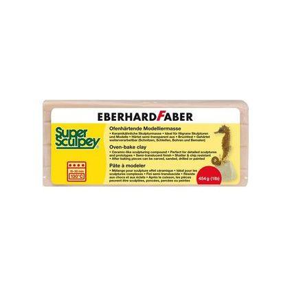 "EBERHARD FABER Modelliermasse ""Super Sculpey"", 454 g, beige"