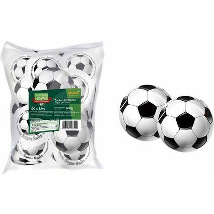 """HELLMA Zuckersachets Sugar Balls """"Fußball"""", im Polybeutel"""
