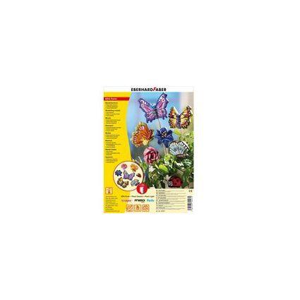 """EBERHARD FABER Motiv-Form """"EFA Form Schmetterlinge & Blüten"""""""