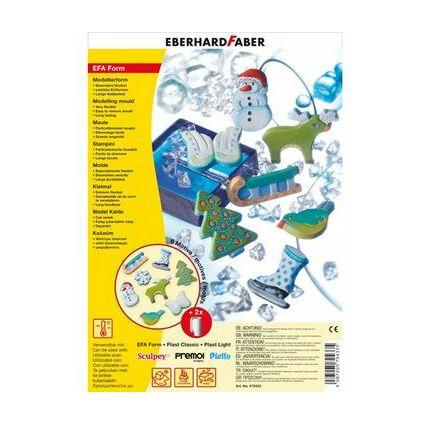 """EBERHARD FABER Motiv-Form """"EFA Form Winter"""", 8 Motive"""