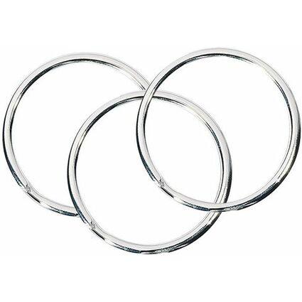 WEDO Metall-Schlüsselringe, Durchmesser: 20 mm