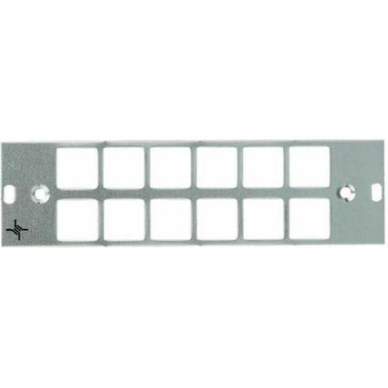 Telegärtner LWL-Teilfrontplatte, 12 x ST