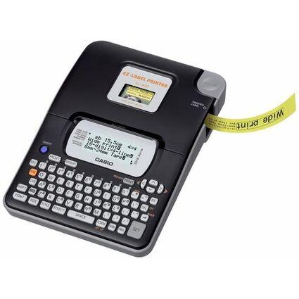 CASIO XR Schriftbandkassette, schwarz auf weiß, 24 mm /