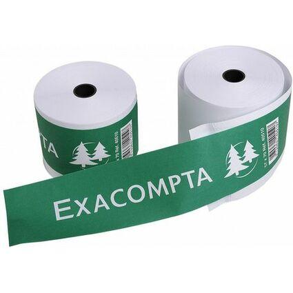 EXACOMPTA Thermorollen für Kassensysteme, 57 mm x 28 m