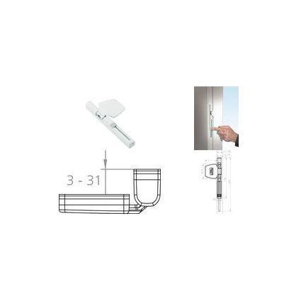 BURG-WÄCHTER Fenstersicherung (Bandseite) Winsafe WS 44 BR