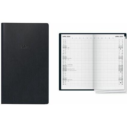 """Glocken Taschenkalender """"Faltkalender"""", 2017, schwarz"""
