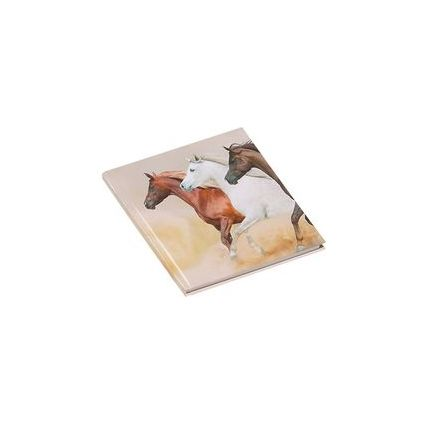 """PAGNA Poesie-Album """"Wildpferde"""", 80 g/qm, 64 Blatt"""