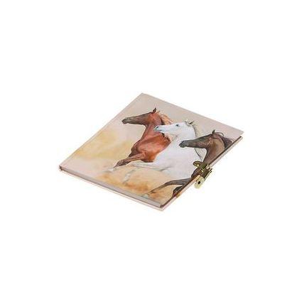 "PAGNA Tagebuch ""Wildpferde"", 80 g/qm, 64 Blatt"
