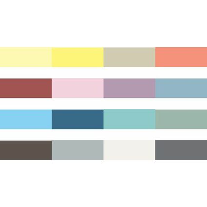 """Marabu Kreidefarbe """"Chalky-Chic"""", 100 ml, rauchblau"""